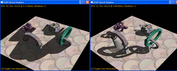An Example of Shadow Rendering in Direct3D 9 - Graphics and